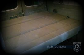 A sofa in a minibus, a sofa in a car, a car sofa