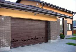 Гаражные Секционные ворота Алютех от 13 850 грн /silver-comfort