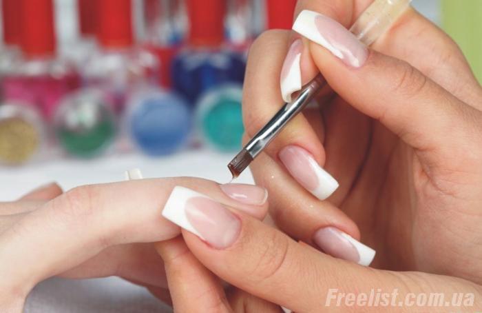 Как укрепить ногти гелем в домашних условиях пошаговая 377