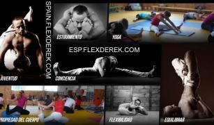 Stretching, stretching, developing body flexibility