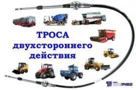 Троси управління: кпп, тнвд, гст, зчеплення, газу, для автобусів