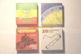 Цигаркові гільзи, цигарки, сувенір, пустушка, штахетник, подарунок
