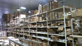 Warehouse racks, metal shelving shelf